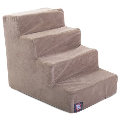 4 Step Pet Stair Color: Stone