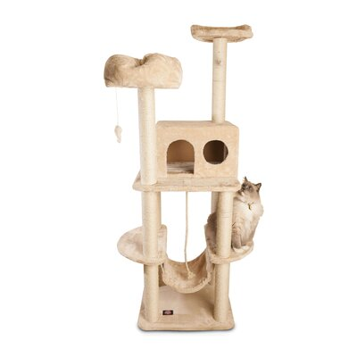 Furniture-Majestic Pet 76 Casita Fur Cat Tree
