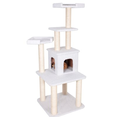 64 H Bungalow Sherpa Cat Tree
