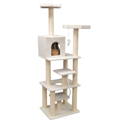 78 H Bungalow Sherpa Cat Tree