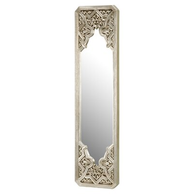 Messina Wall Mirror In Black & Silver