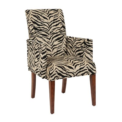 Couture Covers? T-Cushion Armchair Slipcover Upholstery: Kenya