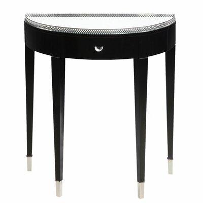 Tuxedo Demilune Console Table