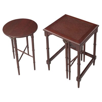 2 Piece Nesting Tables Finish: Cherry
