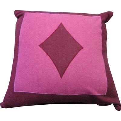 Double Diamond Fuschia/Pink Pillow Shell