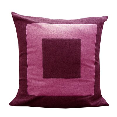Double Square Fuschia/Pink Pillow Shell