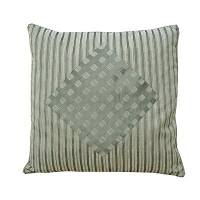Stripes & Diamonds Cyledon/Olive Pillow Shell