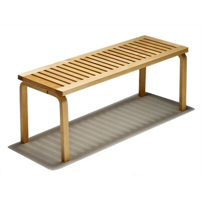 Birch Veneer Bench Size: Large