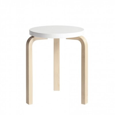 Financing 60 Stool Color: White Laminate...