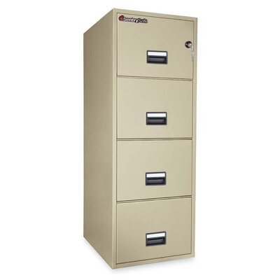 4-Drawer Legal Fireproof File Safe Size: 25 W Product Image 1522
