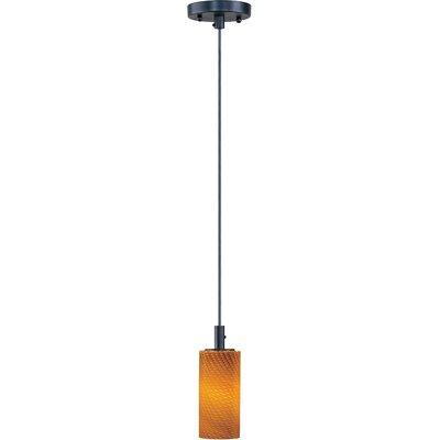 ET2 Carte 1-Light Pendant - Finish / Height / Glass / Bulb Type: Bronze / 11