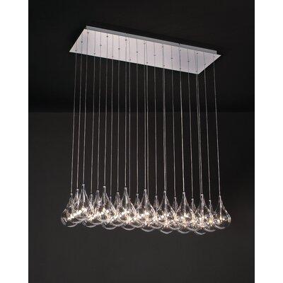 Larmes 24 Light Pendant