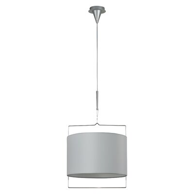 Passion 1-Light Pendant Glass Color: White
