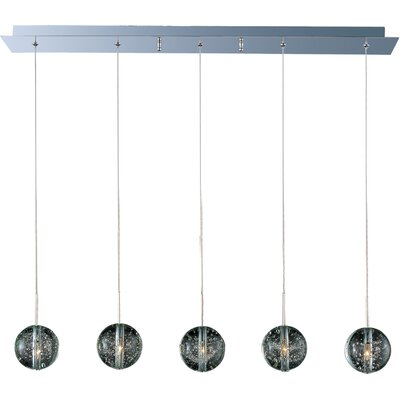 Orb 5-Light Kitchen Island Pendant