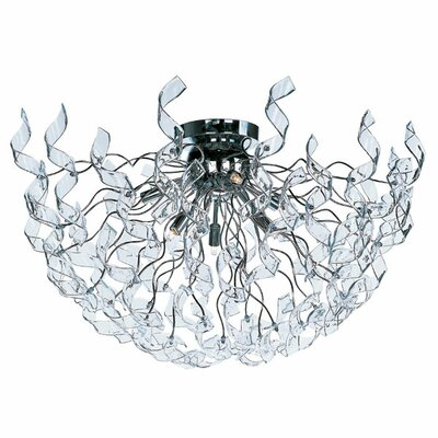 Zest 6-Light Flush Mount