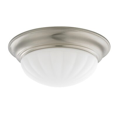 Recesso Tradizionale 14 Glass Ceiling Fan Bowl Shade Finish: Satin Nickel