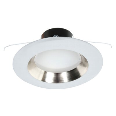Recesso LED Recessed Retrofit Downlight Trim Finish: White