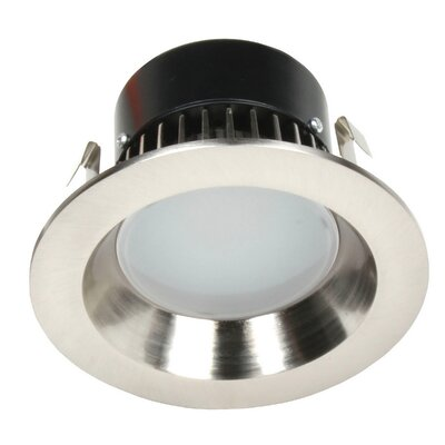 Recesso LED Recessed Retrofit Downlight Trim Finish: Satin Nickel
