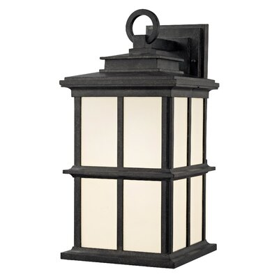 Rockaway Manchester 1-Light Outdoor Wall Lantern Size: 16.5 H x 8 W x 9.75 D