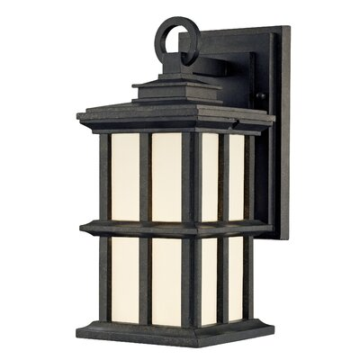 Rockaway Manchester 1-Light Outdoor Wall Lantern Size: 11.5 H x 5.13 W x 6.75 D