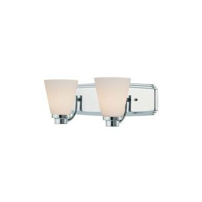 Southport 2-Light Vanity Light Finish: Chrome