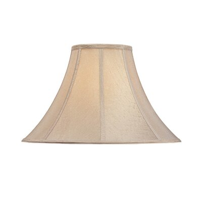 Round Polyester Bell Lamp Shade (Set of 4) Shade Color: Beige Textured