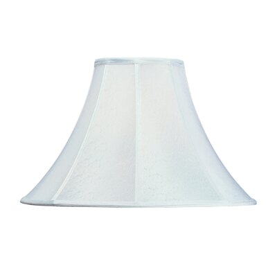 Round Polyester Bell Lamp Shade (Set of 4) Shade Color: White Textured