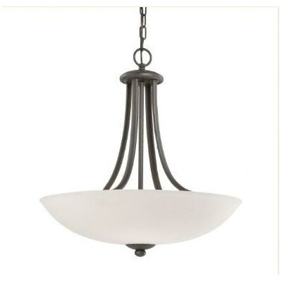 Rainier 4-Light Inverted Pendant Finish: Bolivian