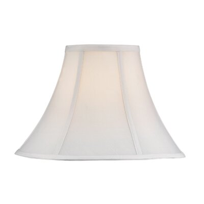Round Polyester Bell Lamp Shade (Set of 4) Shade Color: White