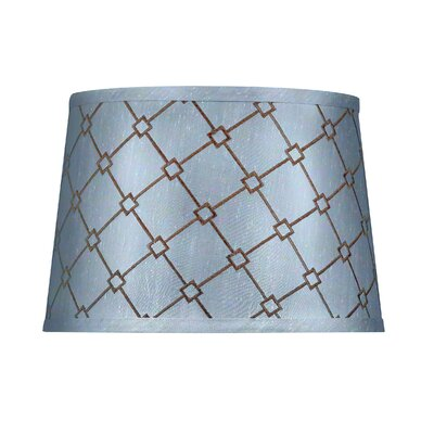 Modified Barrel Hardback Polyester Drum Lamp Shade (Set of 4) Size: Medium