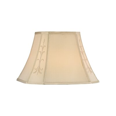 Square Cut Corner Soft Back Polyester Bell Lamp Shade (Set of 4)