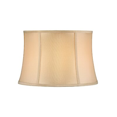Large Round Soft Back 15 Polyester Bell Lamp Shade (Set of 4) Shade Color: Beige