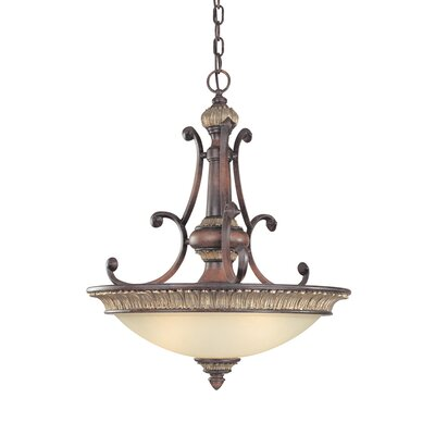 Bonita 3-Light Inverted Pendant Size: 26.75 H