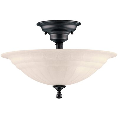 Bainsbury Semi Flush Mount Finish: Royal Bronze