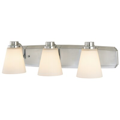 Southport 3-Light Vanity Light Finish: Satin Nickel
