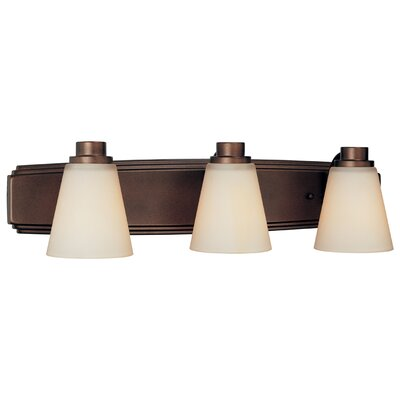 Southport 3-Light Vanity Light Finish: Heirloom Bronze
