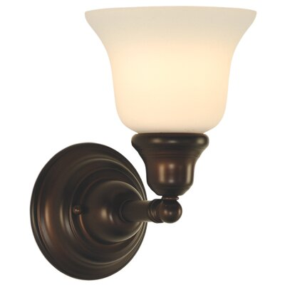 Brockport 1-Light Wall Sconce Finish: Royal Bronze