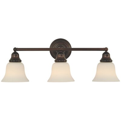 Brockport 3-Light Vanity Light Finish: Royal Bronze