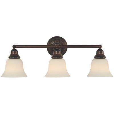 Brockport 3-Light Vanity Light Finish: Royal Bronze