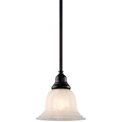 Bainsbury 1-Light Mini Pendant Finish: Royal Bronze