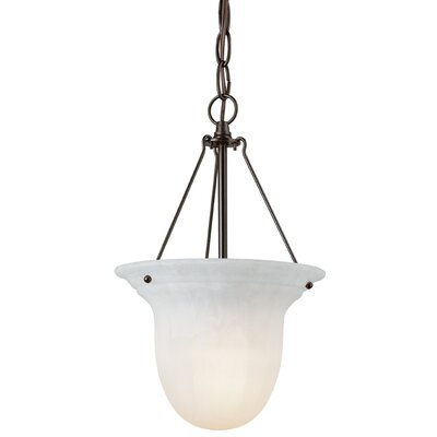 Bainsbury 1-Light Foyer Pendant Finish: Royal Bronze