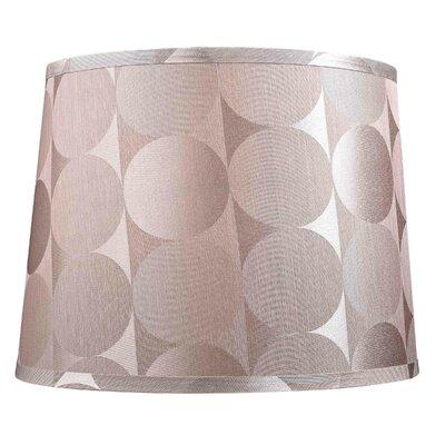 Modified Barrel Hard Back Polyester Drum Lamp Shade (Set of 4) Size: Medium