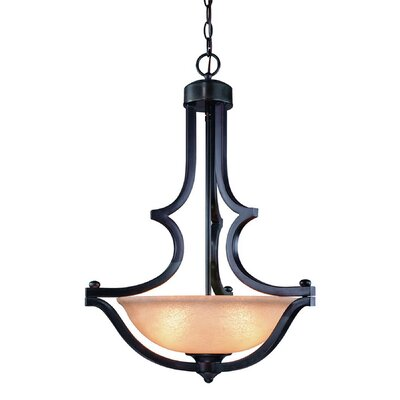 Garrison 3-Light Inverted Pendant