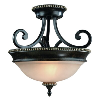 Hastings 2-Light Semi Flush Mount