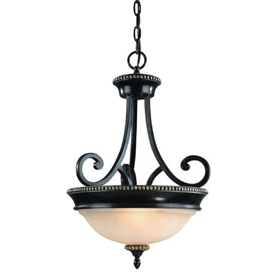 Hastings 2-Light Inverted Pendant