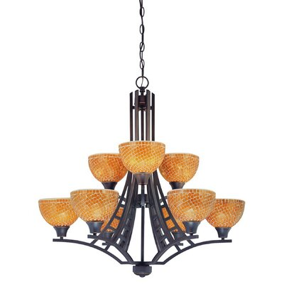 Venicia 9-Light Candle-Style Chandelier