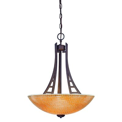 Venicia 3-Light Bowl Pendant