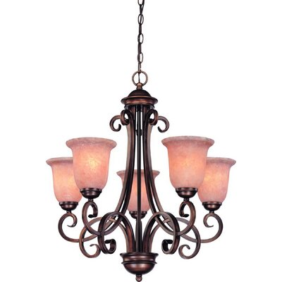 Medici 5-Light Shaded Chandelier