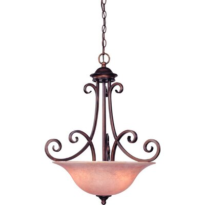 Medici 3-Light Inverted Pendant