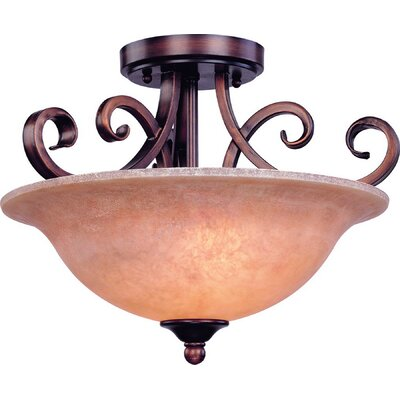 Medici 2-Light Semi Flush Mount